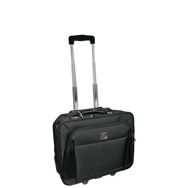 5551ebda64e HM30050 HM30050 · Monolith Executive Business Laptop Overnight Case Wheeled  Telescopic Handle Black ...