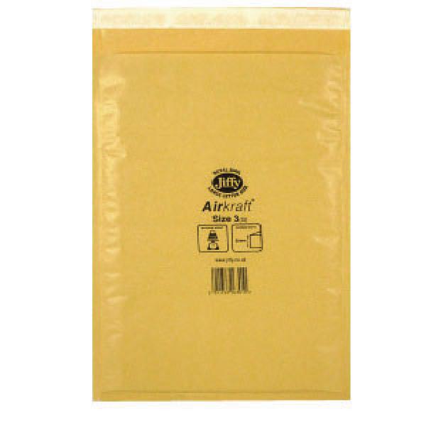 """100 JL7 Jiffy Bags Airkraft Bubble Envelopes 13.5/"""" x 18/"""" WHITE"""